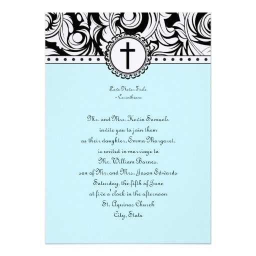 Elegant 245 Best Christian Wedding Invitations Images On Pinterest,