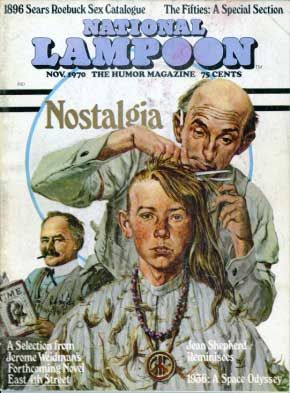 National Lampoon Magazine  # 8 - November 1970 pdf Back Issues Collection  Archives Download DVD Ebay Amazon