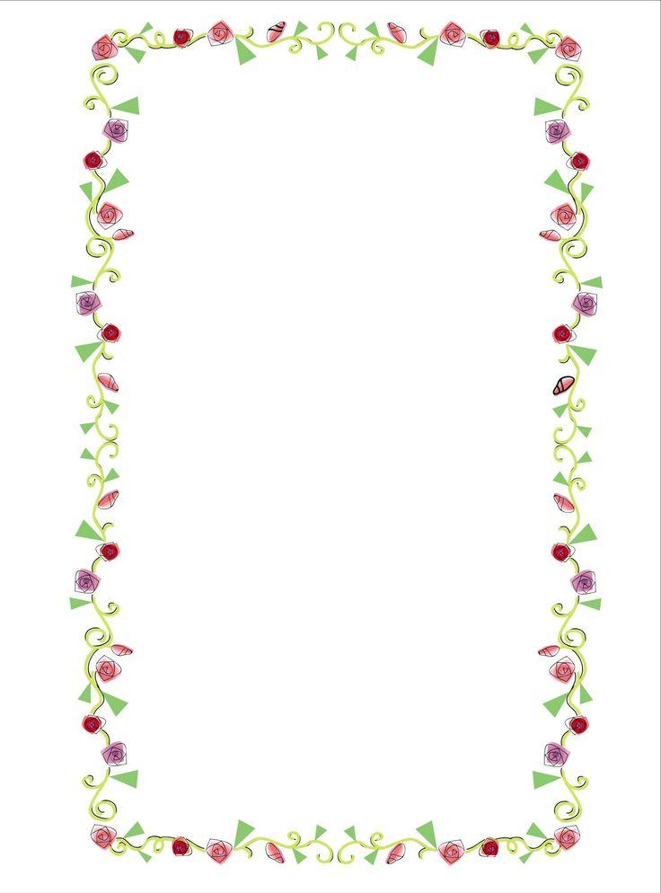 теперь рамки для ворд цветочки поздравления обработка его
