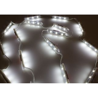 LED Modul Kaltweiß IP65 3-Chip 12V