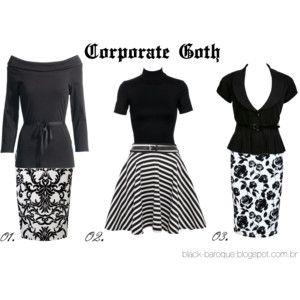 Corporate Goth Estampas