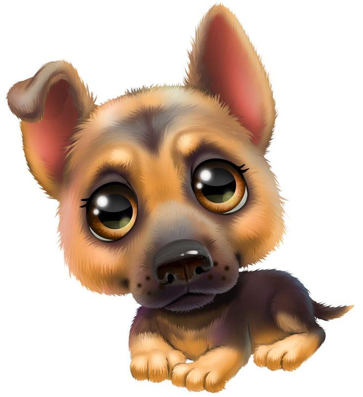 День, смешные рисунки с собаками