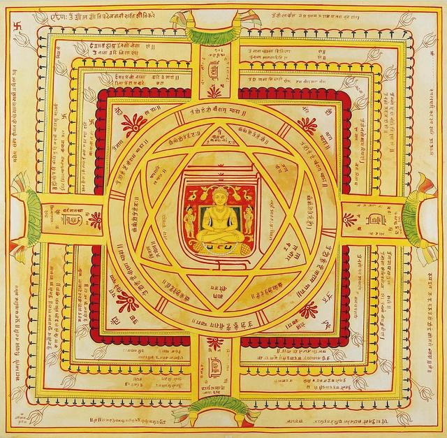 Vardhamana Vidya Yantra Pata