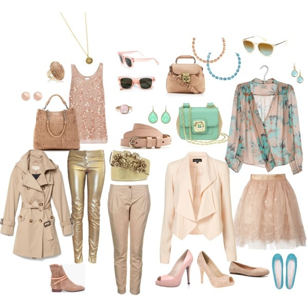 """""""Experimenting - Light Spring"""" by lizzycb on Polyvore"""