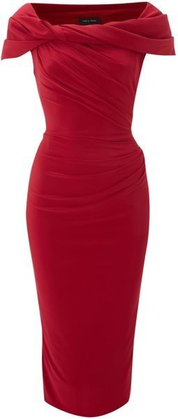 Forget the little black dress, the little red one is much hotter