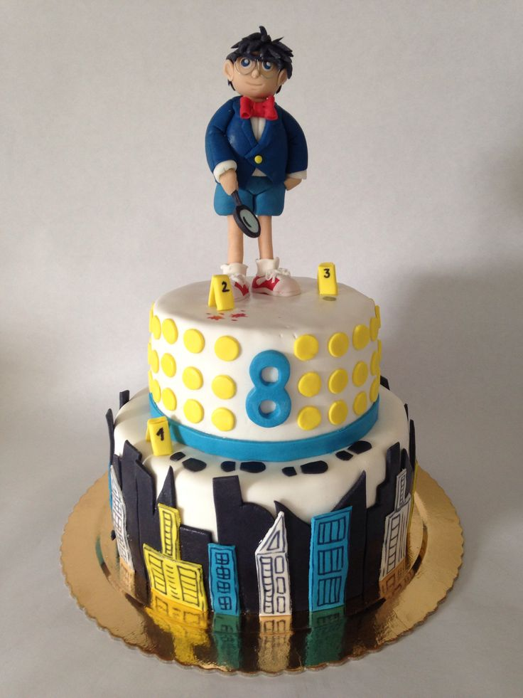 Detective Conan Cake My Creations Pinterest