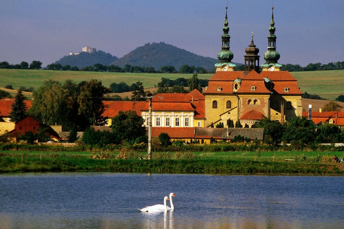 A favorite image from the area where I lived in the late 90s. Velehrad Monastery…