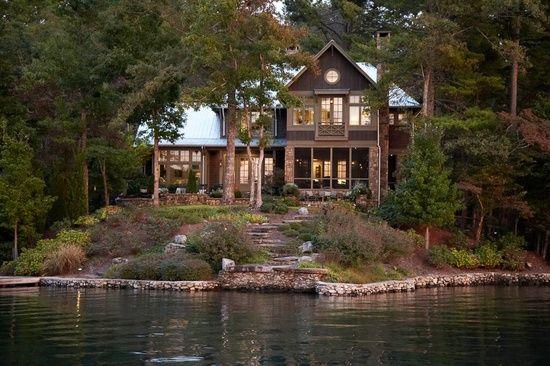 Haus and Home Lake Burton Home by Pritchett + Dixon