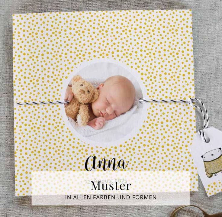 Kreative Geburtskarten & Dankeskarten