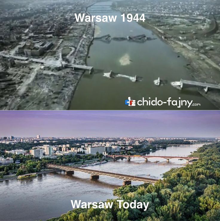 Warsaw in 1944 - Warsaw Today