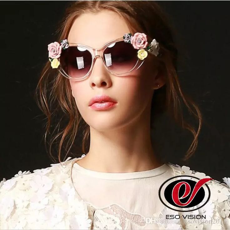 Fashion Cat Eye Pink Sunglases for Woman Rose Flower Sunglasses Crystal Cheap Plastic Sunglasses Black Designer Beach Sunglasses for Sale Flower Sunglasses Pink Sunglasses Cat Eye Sungalsses Online with $14.29/Piece on Esovision2016's Store | DHgate.com