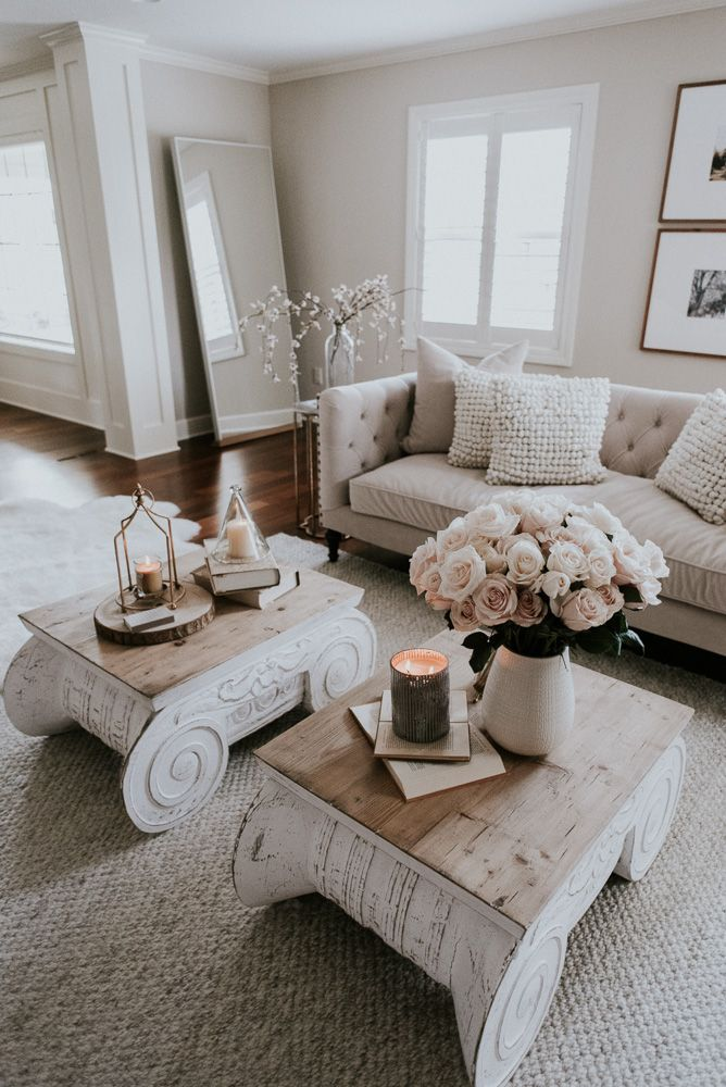 Living and Dining Room Home Tour
