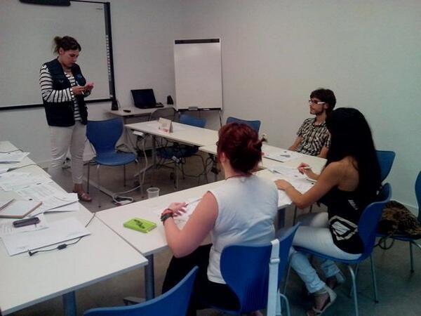 Nuestra técnica @María Sola prepara nuevos voluntarios/as para hacer más grande nuestro proyecto @AndaluciaComDig
