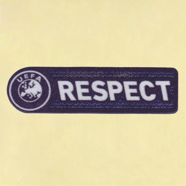 UEFA Respect 2009-2011Sleeve Soccer Patch | 3D Flock Patch