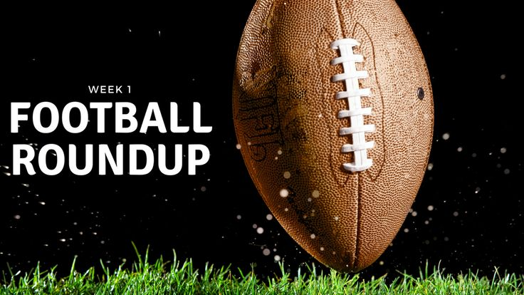 🏈 Weekly roundup: High school football week 1  Miss a high school football game this week? No worries, here's our complete coverage from week 1 of high school football!