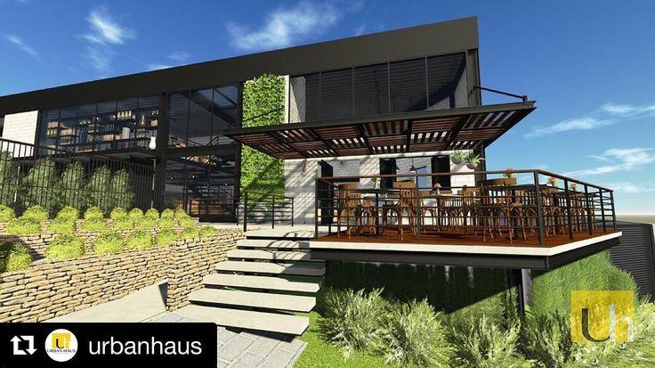 #Repost @urbanhaus (@get_repost) ・・・ Projeto Floricultura Uriel | Santa Lúcia, Belo Horizonte -MG // Urban Haus. ➡️ @floriculturauriel  #urbanhaus #arquitetura #design #buildingdesign #archlovers #floricultura #flowershop #coffeeshop #architecture #estruturametalica
