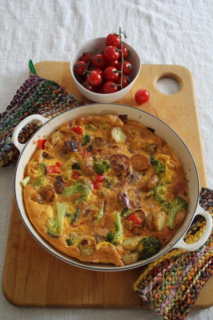 Spansk tortilla - Mat på bordet