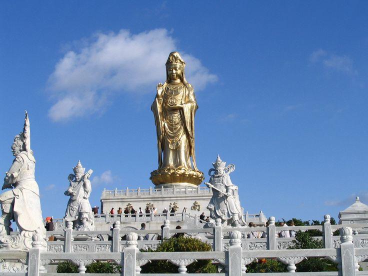 Guan Yin Statue, Mount Putuo, Zhoushan, Zhejiang, China