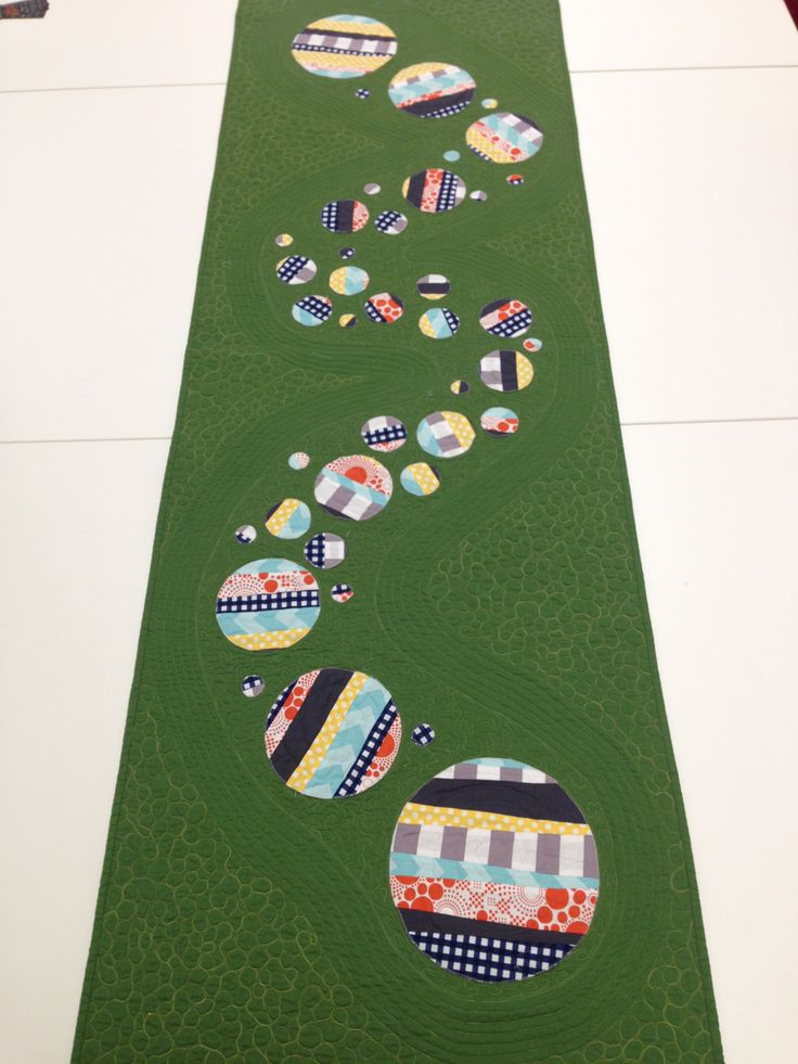 Jan's MQG Riley Blake Challenge Table Runner