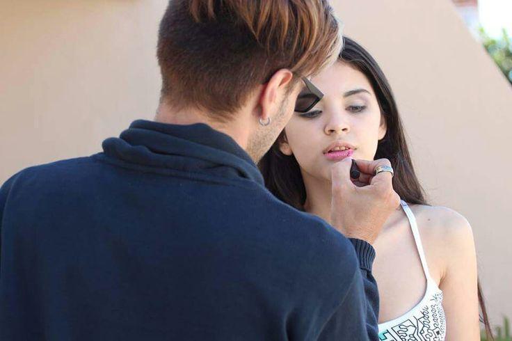 Book Agustina Benitez Maquillaje  opción dia y peinado por Fabian Cerdan Ph. Javier Mottola Estudio TomaUno