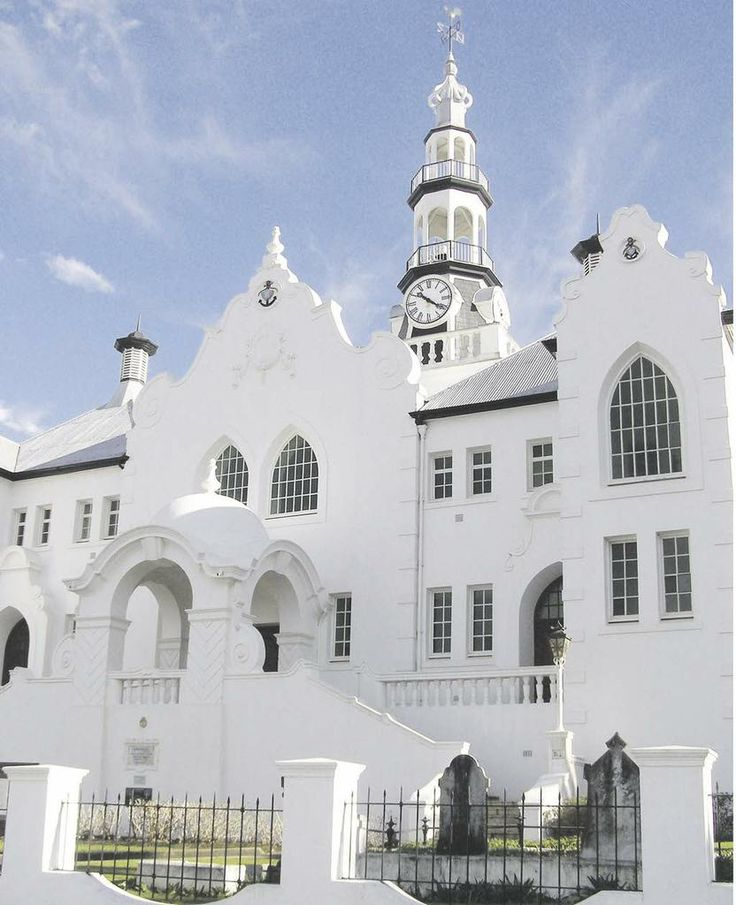 NG Church in Swellendam - Western Cape - South Africa.  - Explore the World with Travel Nerd Nici, one Country at a Time. http://travelnerdnici.com
