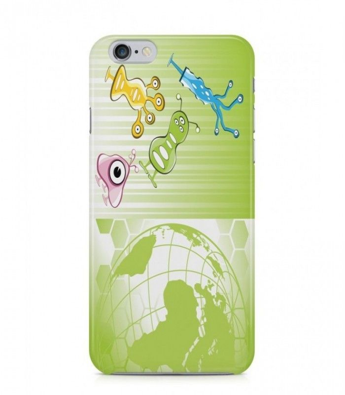 Amazing Mutant and Earth Alien Theme 3D Iphone Case for Iphone 3G/4/4g/4s/5/5s/6/6s/6s Plus - ALN0165 - FavCases