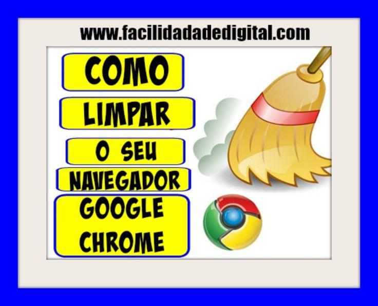 Como Limpar Os Cookies e Cache Do Seu Navegador Google Chrome - Salomão ...