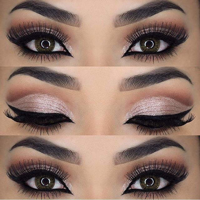 Wedding Eye Makeup Pink : pink with soft cut crease Best Makeup Looks and Ideas ...