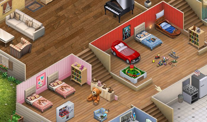 Virtual families 2 house upgrades google search vf2 for Room design simulator free online