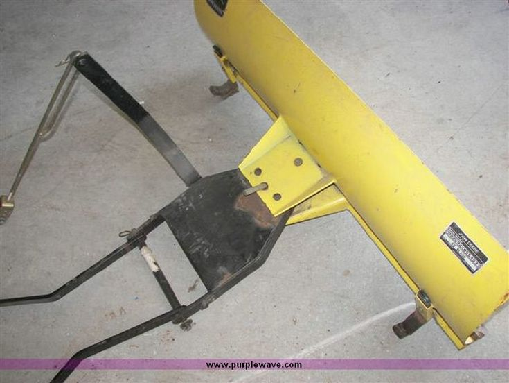 Garden Tractor Snow Plow Parts 48 Quot Snow Blade For 1998