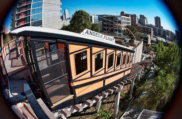Historic Angels Flight To Reopen Labor Day 2017