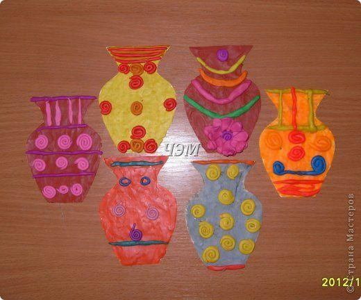 картинки пластилинография для детей 4-5 лет