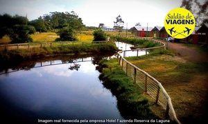 Groupon - Capão da Canoa/RS: 1, 2, 3, 4 ou 5 noites para 2 ou 4(opçõs em feriados) noHotel Fazenda Reserva da Laguna em Capão da Canoa. Preço da oferta Groupon: R$179