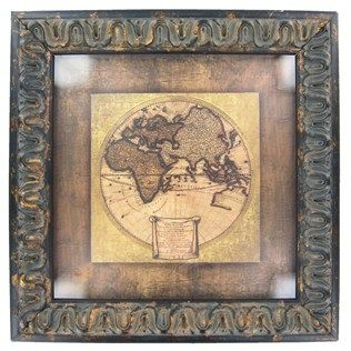 Global Map I Framed Art   Shop Hobby Lobby ****THIS IS PERFECT FOR THE LIVING ROOM