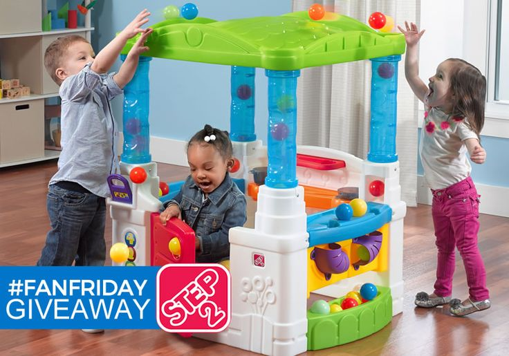 Enter for your chance to win a #Step2 Wonderball Fun House for this week's #FanFriday #Giveaway!