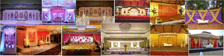 Wedding Stage, Reception Stage, Wedding Backdrop Decorations By Melting Flowers Check Out here