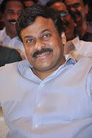 Megastar Chiranjeevi Photos at Race Gurram Audio Launch, Chiranjeevi latest look stills at Allu Arjun's Race Gurram