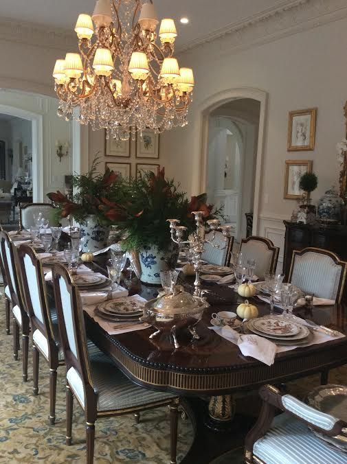 Warm Wishes For A Wonderful Thanksgiving!   The Enchanted Home · Elegant Dining  RoomDinning ...
