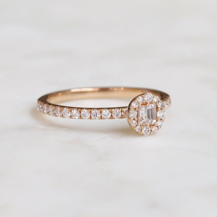 We have a serious love for rose gold and diamonds // KL Diamonds