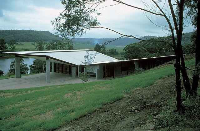 Glenn Murrcutt 2002 Laureate, Arthur & Yvonne Boyd Education Centre, New South Wales, Australia, 1999