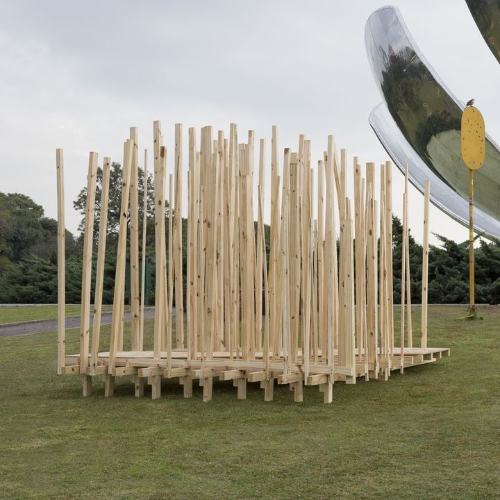 CURTADERAS UADE Profesor: Federico Ambrosio Alumnas: Julieta Hooft + Carolina Rudi   #diseño #madera #festival #wood #design #art #arte #fashion #moda