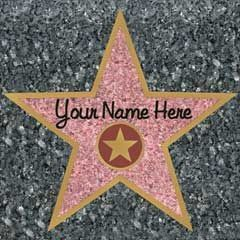 Walk of Fame Stars-12 Pack