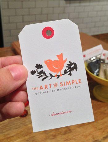 "cute little shop - I like their descriptive tagline  ""curiosities and necessities"""