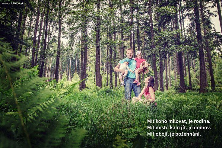 Rád fotím rodiny na jejich oblíbeném místě, které milují.