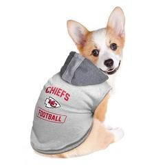 NFL Little Earth Football Pet Hooded Crewneck Shirt 1