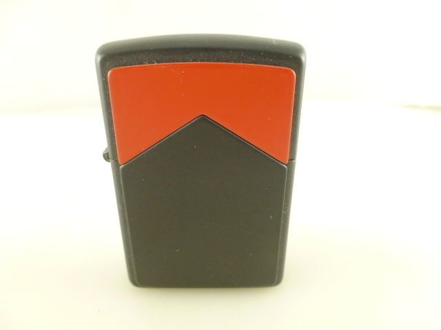 1994 H X Marlboro Matte Black With Red Roof Zippo