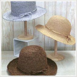 AMU-185 シンプルクロッシェ - free Japanese crochet hat pattern with universal crochet diagrams.