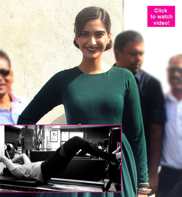 This video of Sonam Kapoor sweating it out in the gym is all you need for Sunday motivation!