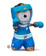 2012 Olympic Games - boxing mascot  http://www.hornby.com/shop/london-2012-range/london-2012-mascot-die-cast-figurine-collection/gs62105-london-2012-die-cast-figurine-wenlock-boxing/