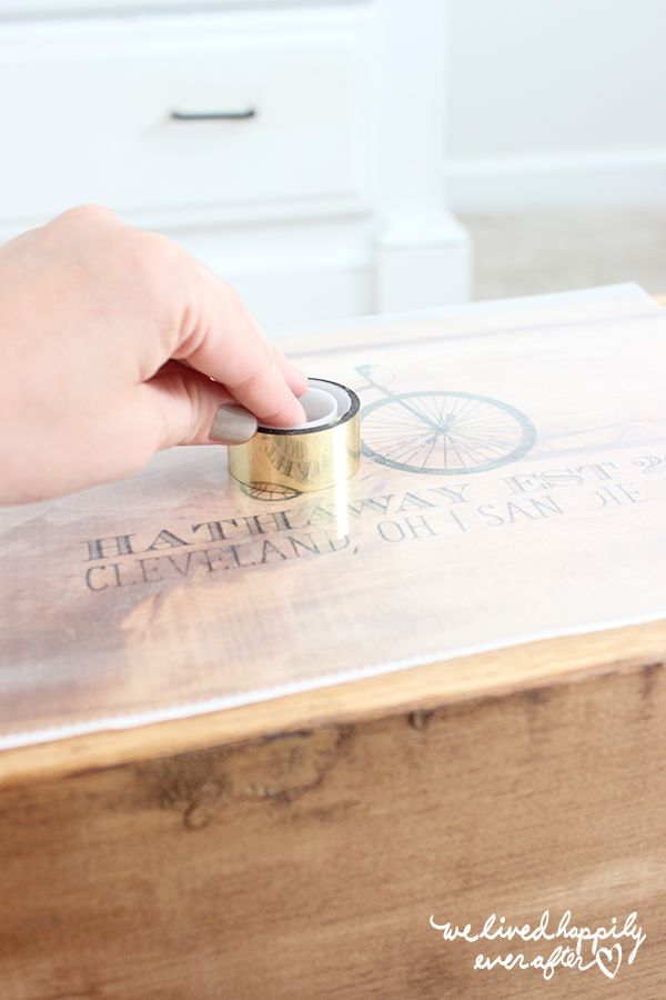 Home Printer Ink Image Transfers For DIY Signs- A New, Easier Method Without Wax Paper!